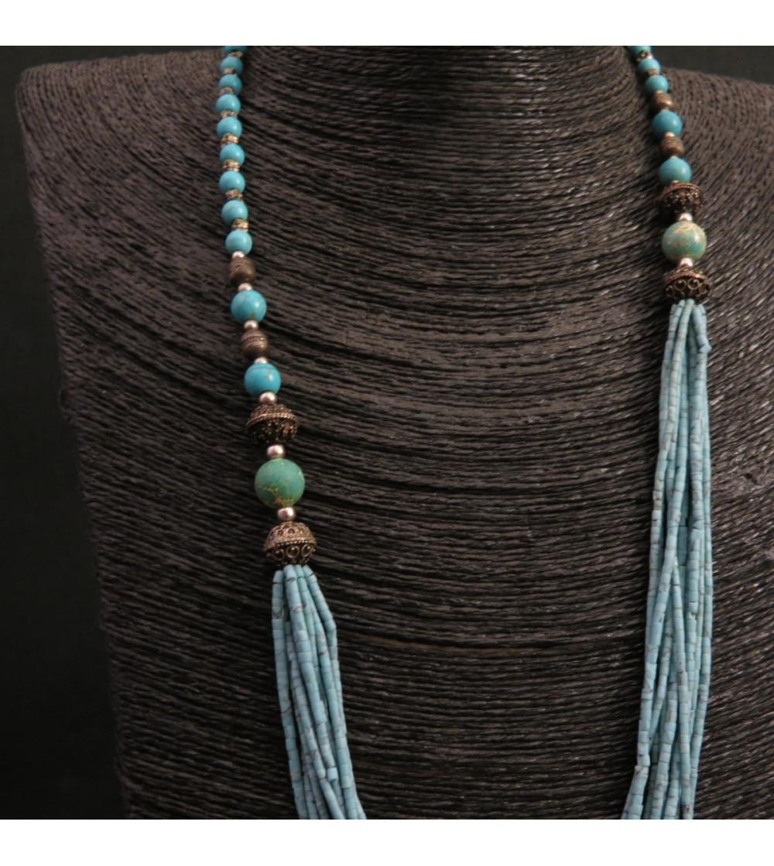 Sautoir Turquoise