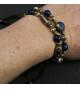 Bracelet fantaisie Rouge et Bleu