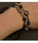Bracelet ajustable Bleu