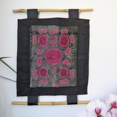 Broderie Florale Miao