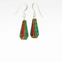 Tibetan Stone Earrings
