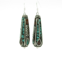 Nepal Long Earrings