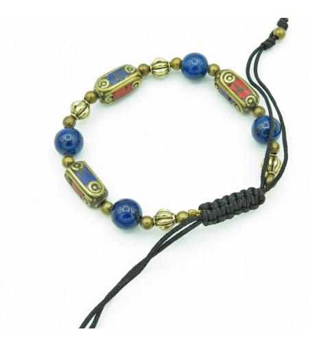 Adjustable bracelet Blue