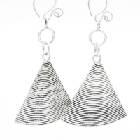 Ethnic Triangles Earrings