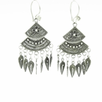 Ethnic fans Earrings