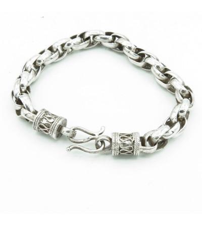 Bracelet maille tambour