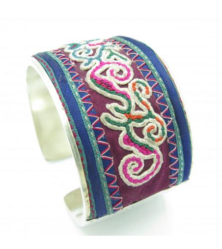 Bracelet Miao Broderie Ancienne