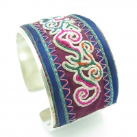 Miao Bracelet Old Embroidery