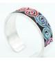 Embroidery Bracelet Spirals