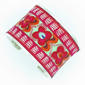 Bracelet Large Couleurs Miao