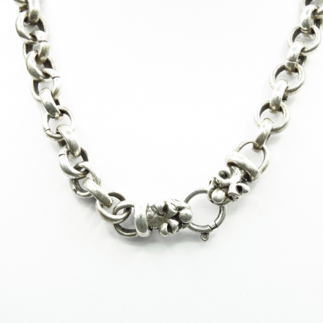 Collier Dragon maille ronde