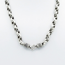 Collier maille tambour