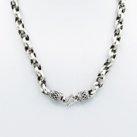 Drum mesh necklace