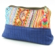Trousse Bleue Broderies Hmong