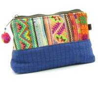 Blue Hmong Embroidery Case