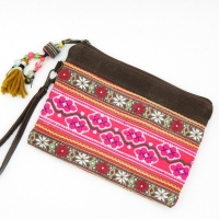 ethnic hand pouch