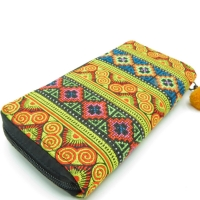 Hmong Fabric continental Wallet