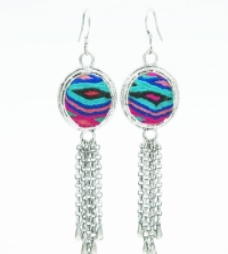 Embroidery Ethnic Earrings