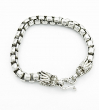 Bracelet Dragon maille carrée