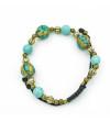 Fantasy bracelet Turquoise balls