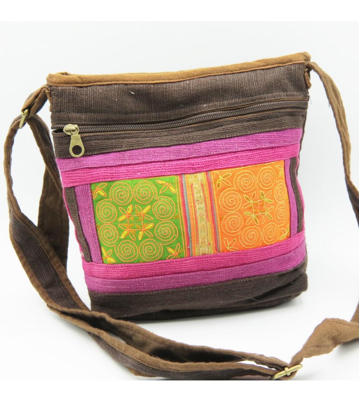 Sacoche Colorée Hmong