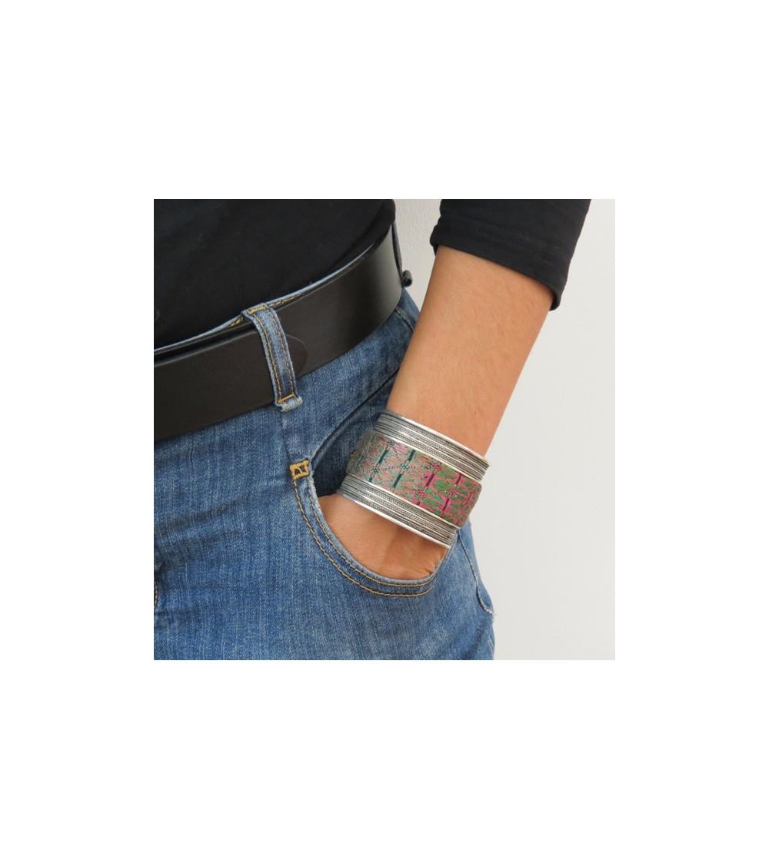 bronze large bracelet