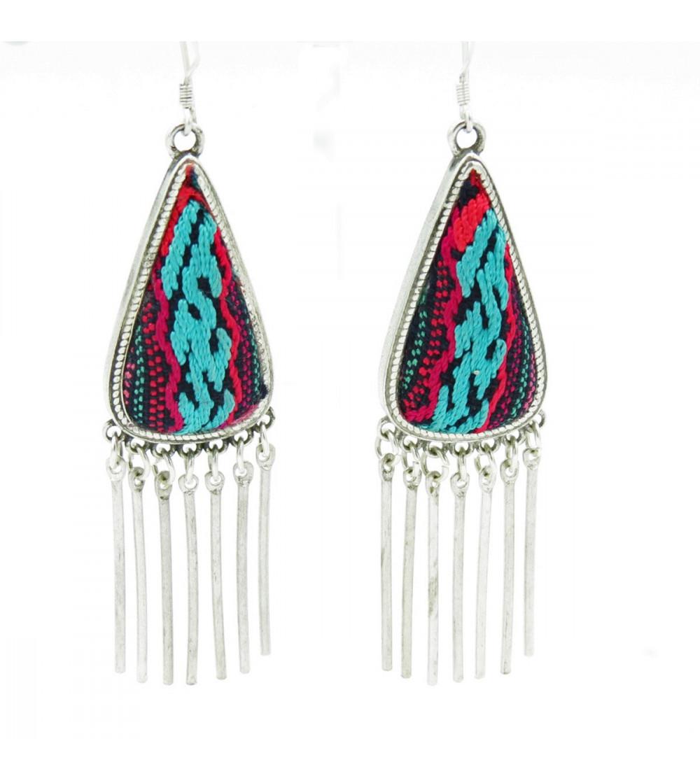 Ethnic Embroidery Earrings