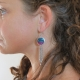 Boucles Ethniques Broderie