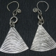 Boucles d'oreille Triangles