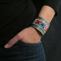 Braided Embroidery Cuff