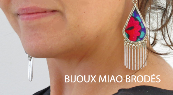 embroidered miao jewellery